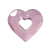 Miss U Heart 26mm Antique Pink Crystal